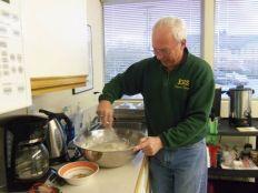 Shrove Tuesday preparations