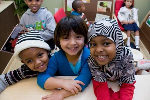 Children at Neighborhood House