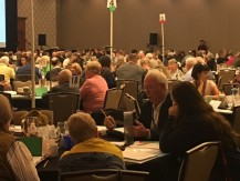 Parishioner Tony Hettler at convention