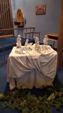 Nativity donated by Cynthia Volkmann